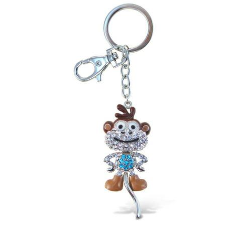 Sparkling Charms - Cartoon Monkey](Monkey Charm)
