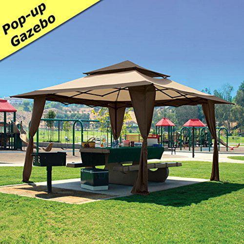 Z-Shade 13 x 13 Pop-Up Canopy Gazebo. Great for Providing...
