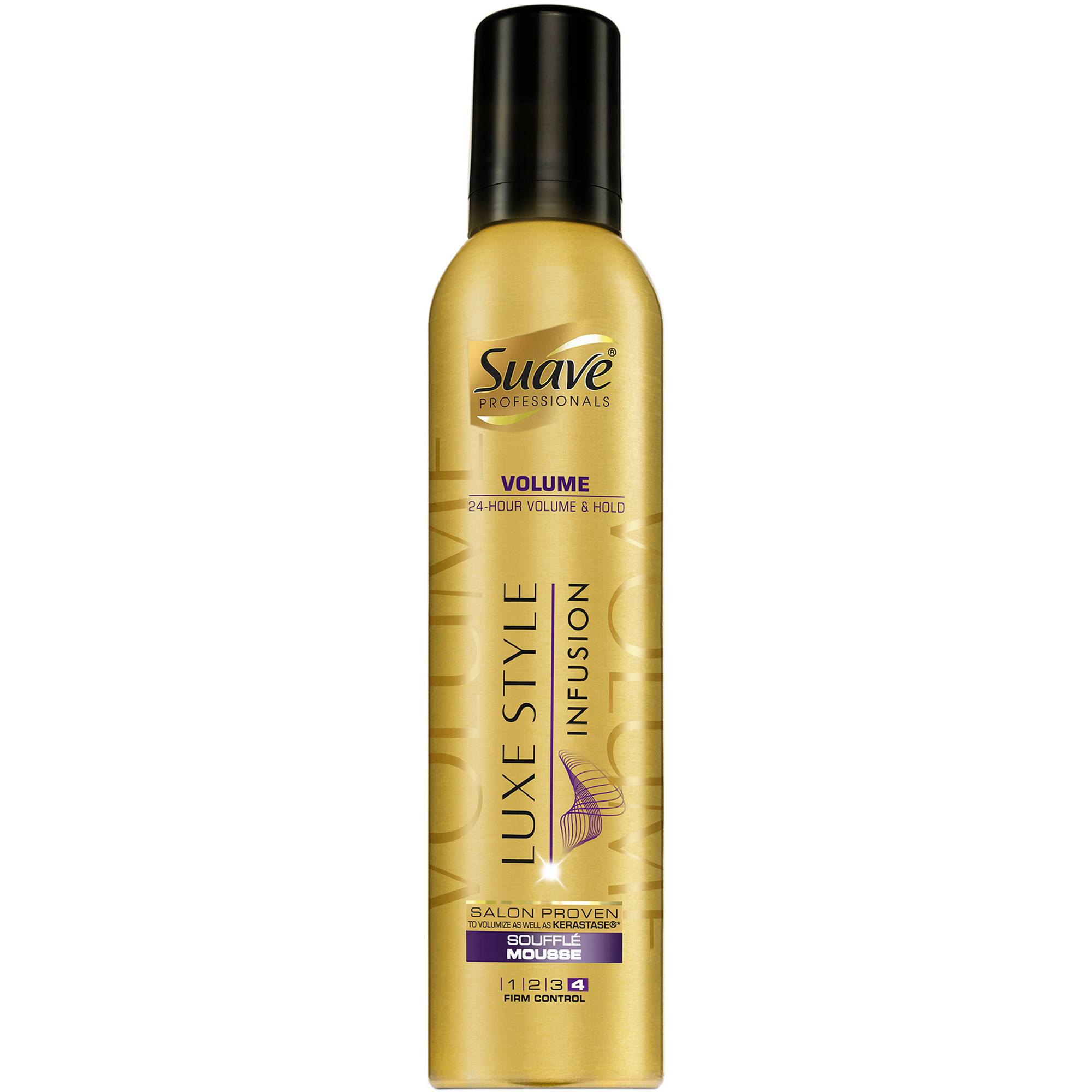 Suave Professionals Luxe Styling Volume Souffle Mousse, 9 oz