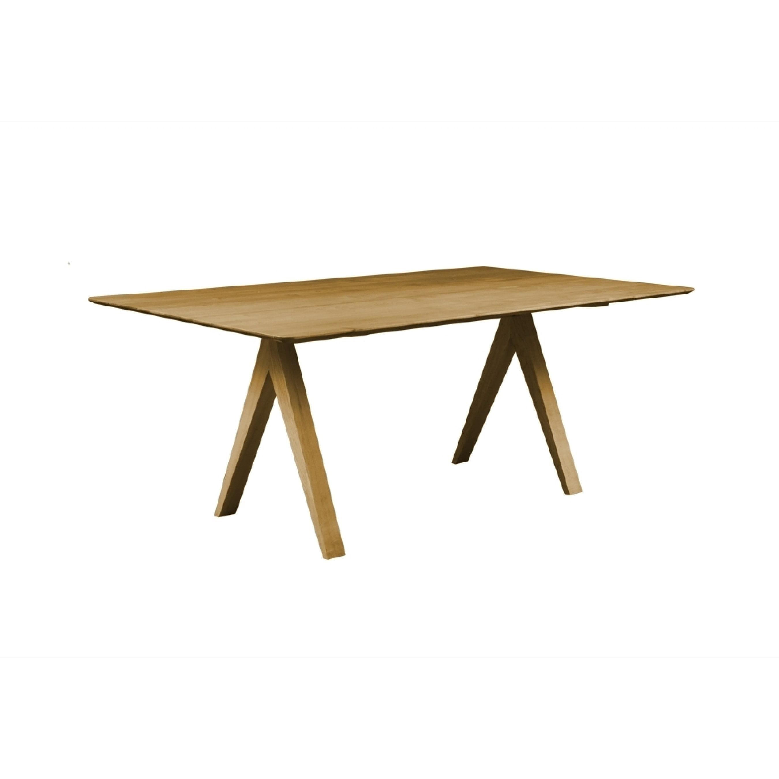 Saloom furniture saloom soma 36 x 72 rectangular maple smooth top custom dining table in flax finish walmart com
