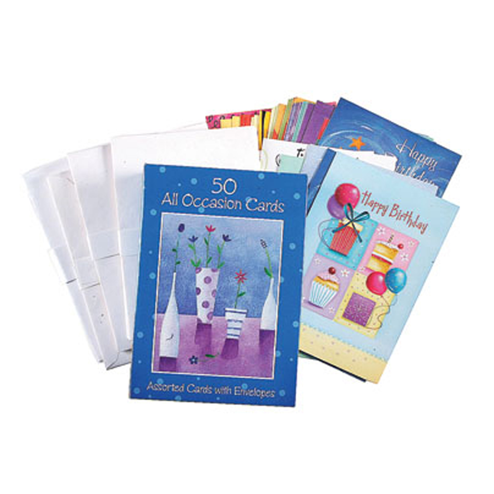 All Occasion Greeting Cards, 50 Ct - 1 Pkg