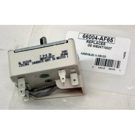WB24T10027 for GE Electric Range Burner Unit Infinite Switch AP2024074 PS236752