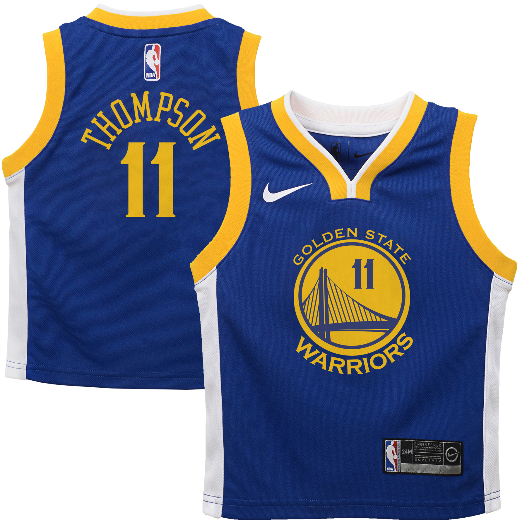 Klay Thompson Golden State Warriors Nike Infant Replica Jersey Blue - Icon Edition