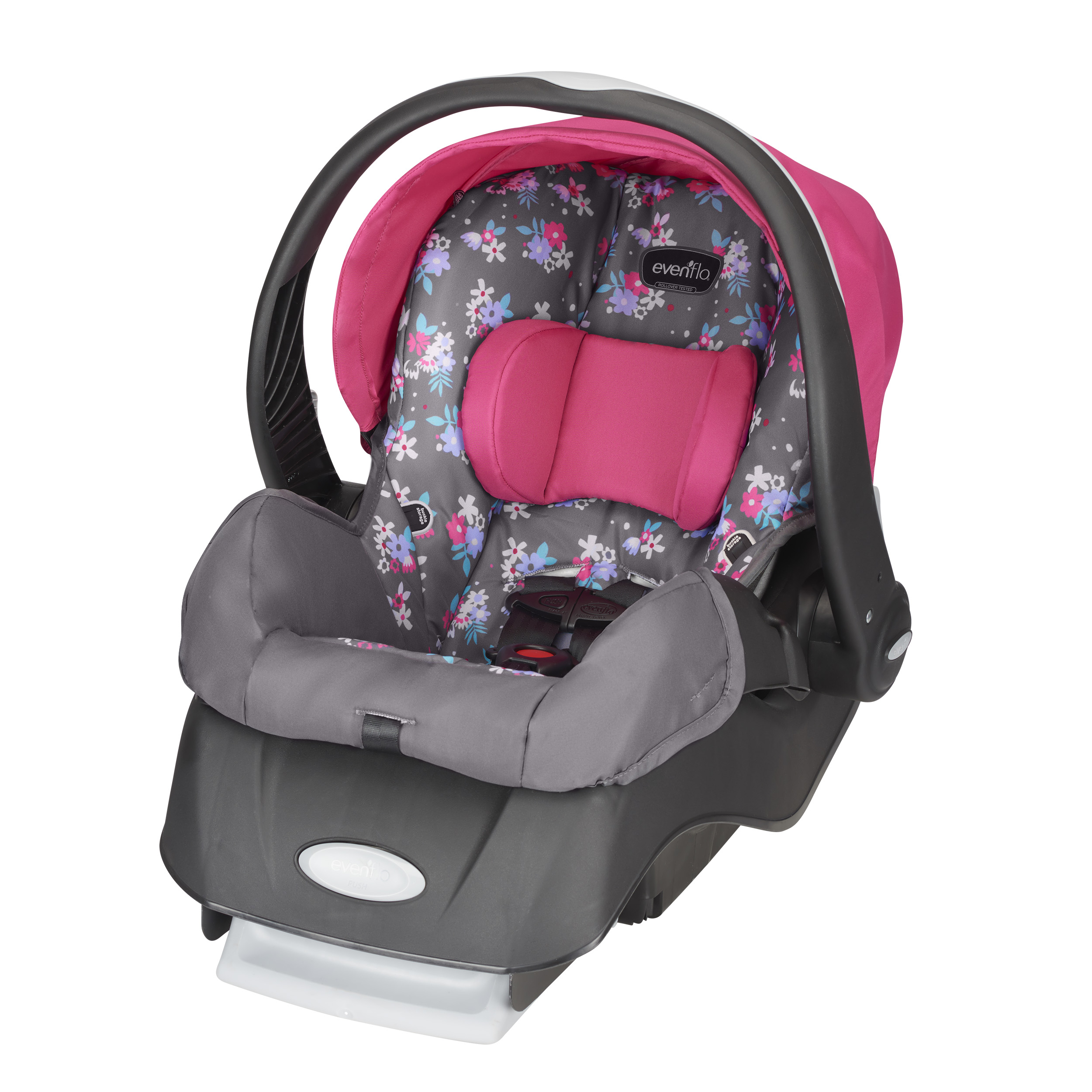 Evenflo Embrace Select Infant Car Seat, Blossom