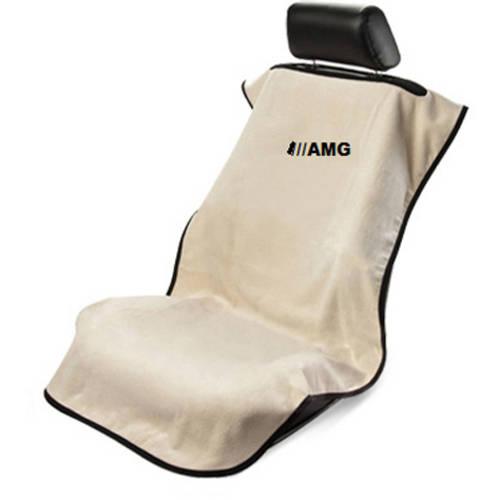 SeatArmour MB AMG Embroid. Tan Seat Armour