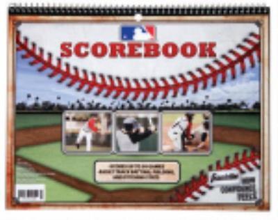 MLB Baseball Softball Scorebook Official 30 Game Combination Scorebook 2PK by
