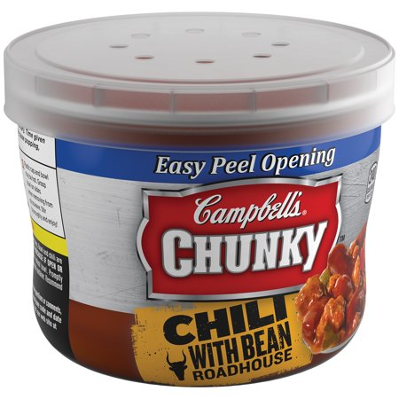 Campbells Chunky Beef   Bean Roadhouse Chili  15 25 Oz
