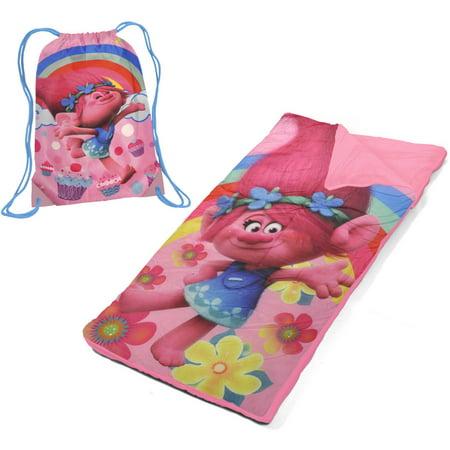 Girls Dreamworks Trolls Poppy Drawstring Sling Bag