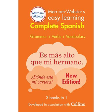 Merriam Websters Easy Learning Complete Spanish