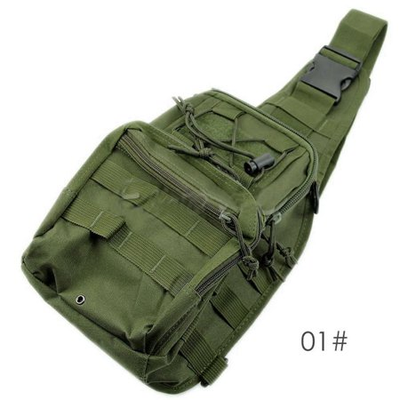 Necessities Set - Tactical Bag, Single Shoulder Messenger Bag, Chest Bag, Casual Office Tactical Satchel, Small Tool Backpak, Bag Which is Suitable Carrying ipad, Smart Phone, Wallet Daily Necessities