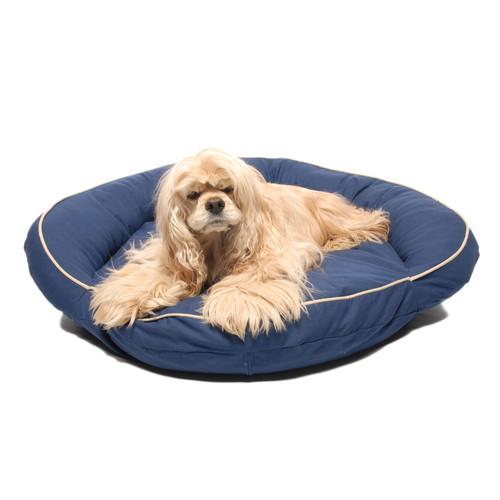 Carolina Pet Company Bolster Twill with Cording Pet Bed