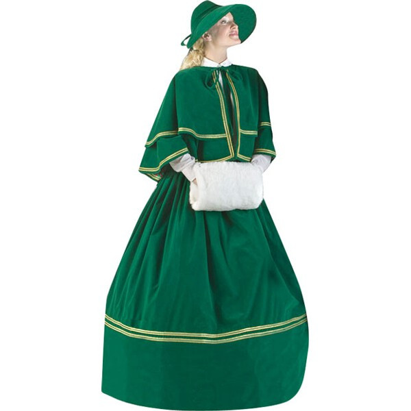 Adult Plus Size Charles Dickens Christmas Carol Dress The...