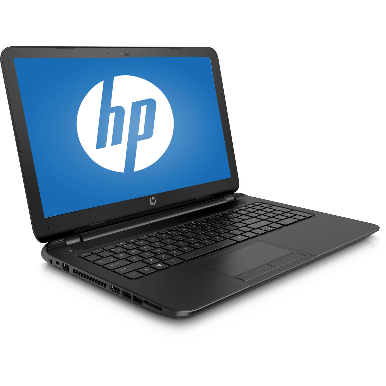 "refurbished hp black 15.6"" 15 f039wm laptop pc with intel"