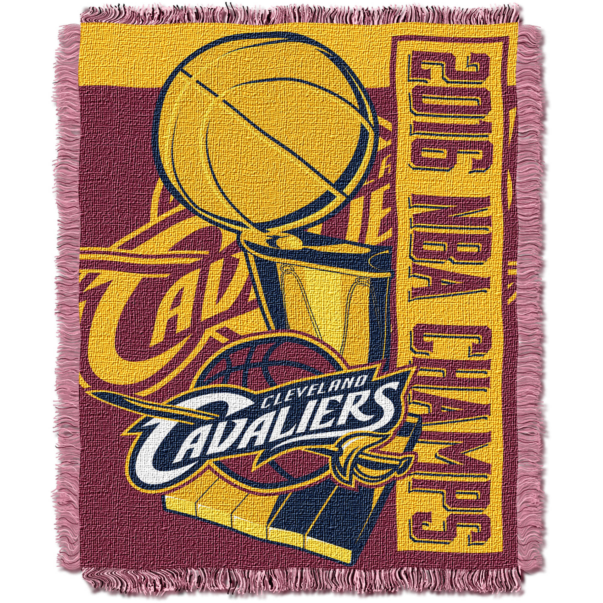 "NBA Cleveland Cavaliers 2016 NBA Champs 46"" x 60"" Jacquard Throw"