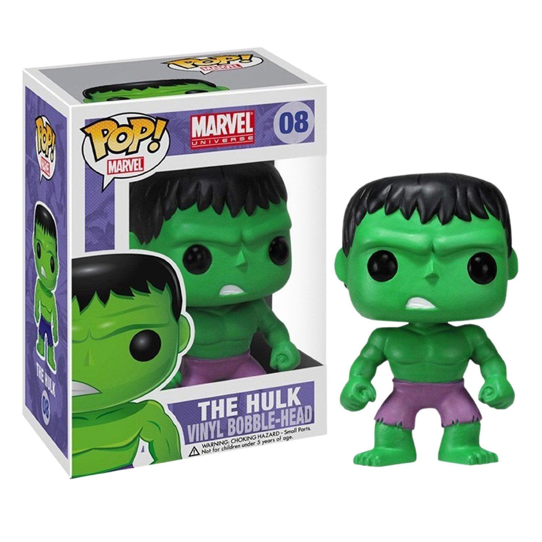 Funko Pop! Marvel The Hulk Vinyl Bobble Head - Walmart.com
