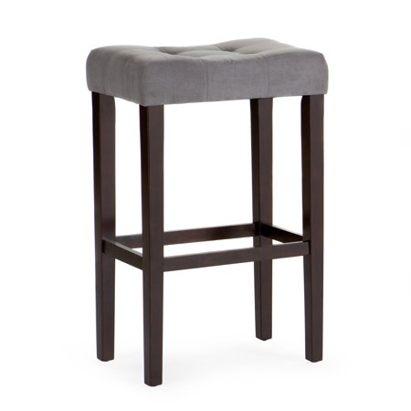 Extra Large Saddle - Finley Home Palazzo Extra Tall Saddle Bar Stool