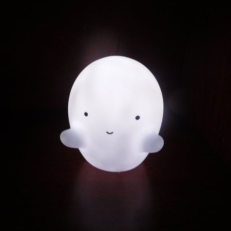 Decorative Party LED Bedroom Cartoon Halloween White Ghost Table Night Light](Halloween Cartoon Artwork)