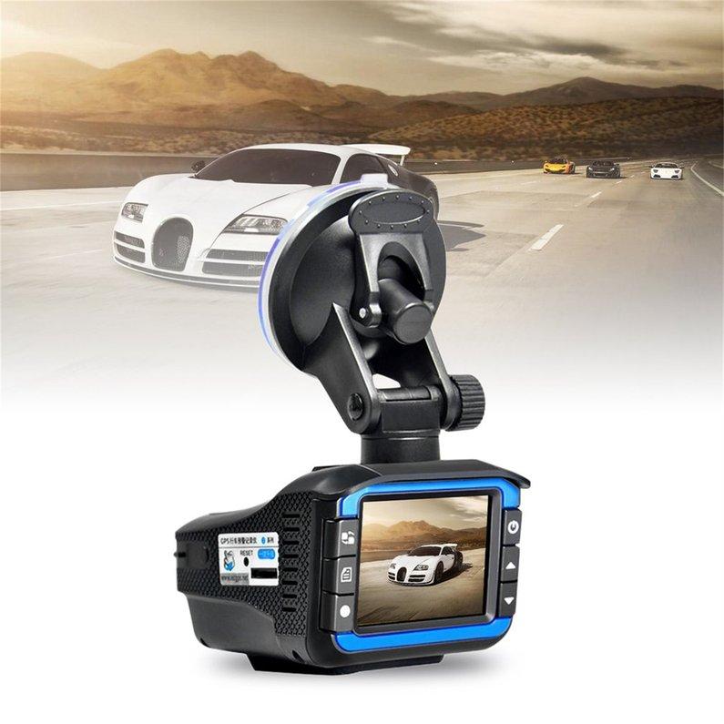 NEW 2 in 1 Car DVR Dash Cam Video Radar Speed Detector Night Vision