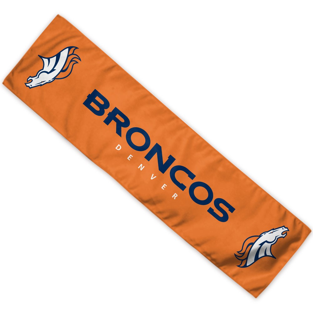 Denver Broncos Official NFL 8 inch  x 30 inch  Cooling Towel by Wincraft