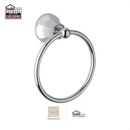 Rohl WE4 Wellsford 6 Towel Ring Polished Nickel
