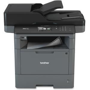 Brother MFC-L5800DW Laser Multifunction Printer - Monochrome - Plain Paper Print - Desktop - Copier/Fax/Printer/Scanner - 42 ppm Mono Print - 1200 x 1200 dpi Print - 1 x Input Tray 250 Sheet, 1 x