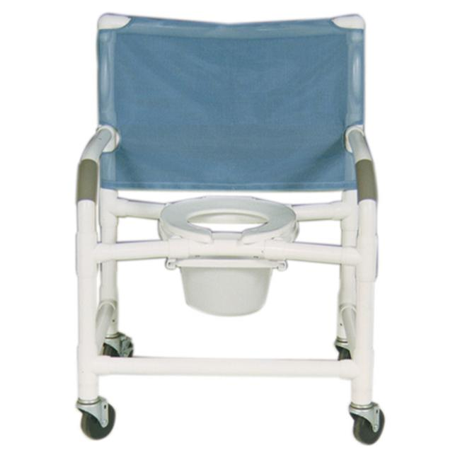 MJM International 126-4-NB Shower- Commode Chair