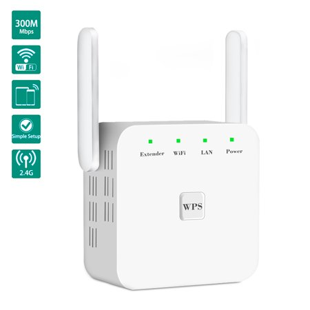 300Mbps WiFi Range Extender,2 4G High Speed Wireless Signal Booster,Wifi  Repeater Router