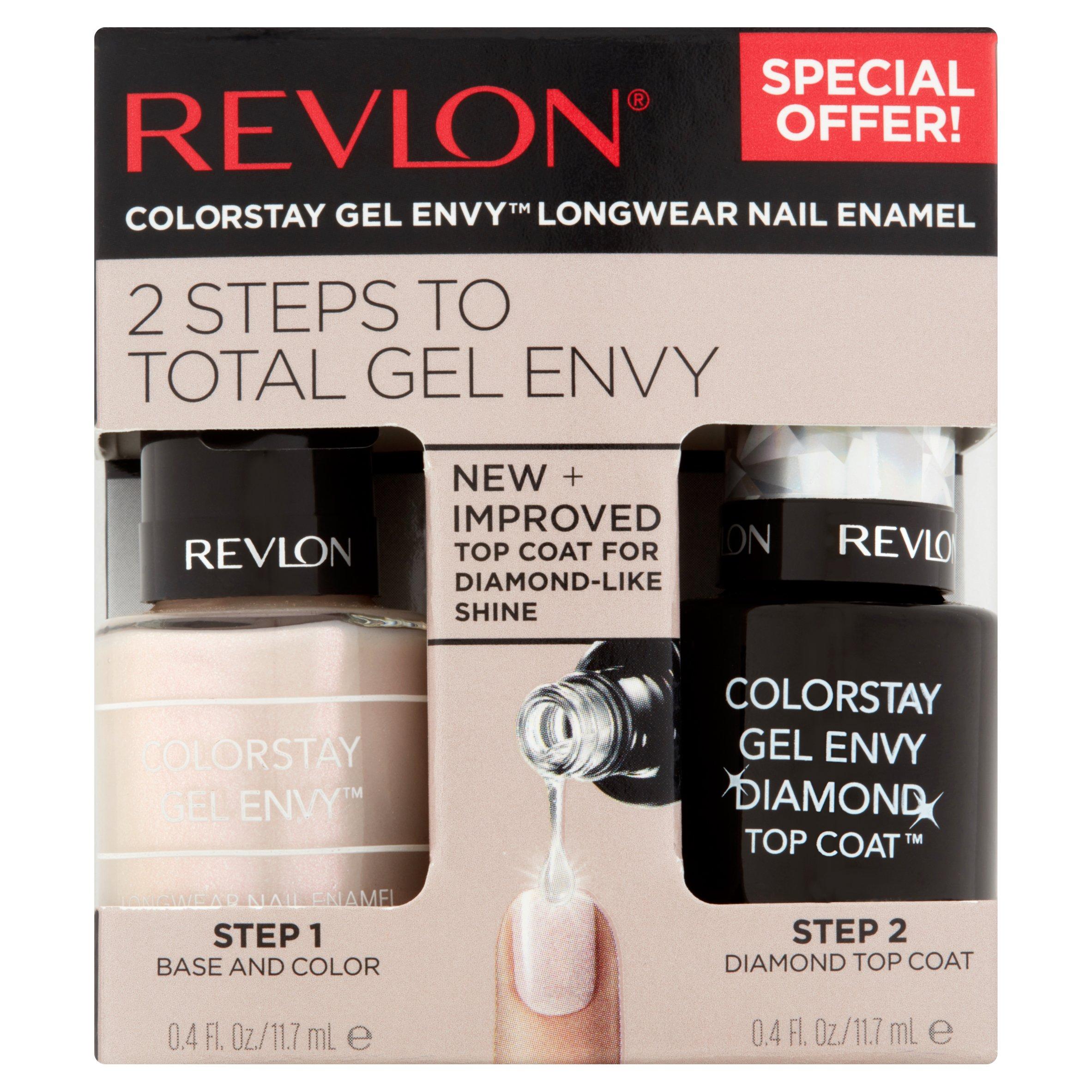 Revlon beginner's luck 730 colorstay gel envy longwear nail enamel