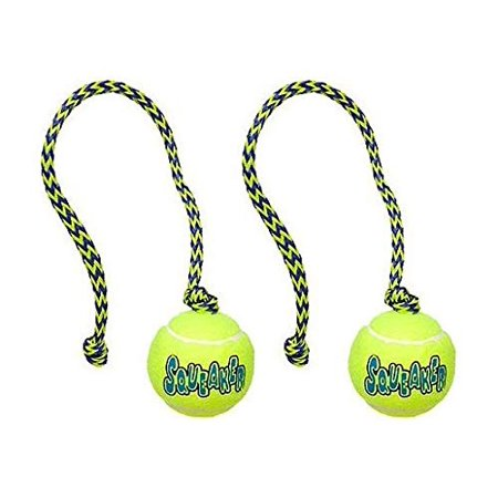 Rope Retriever - Dog Toys Squeaker Tennis Ball with Rope Floating Fetch Retriever Tugs 15