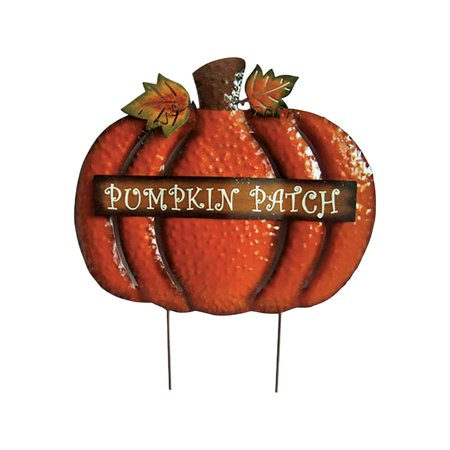 Pumpkin Stake - METAL PUMPKIN STAKE