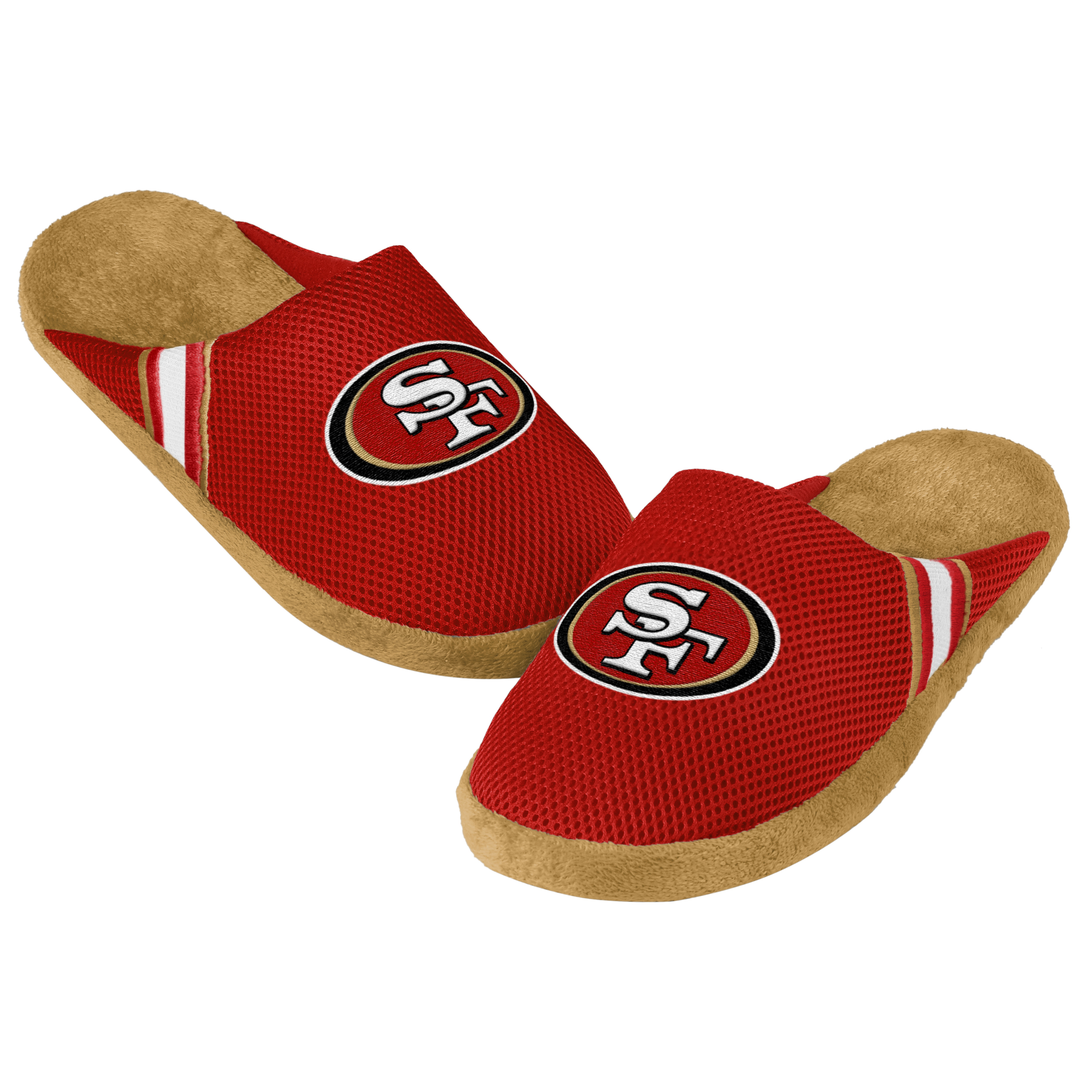 San Francisco 49ers Jersey Slippers - 12pc Case