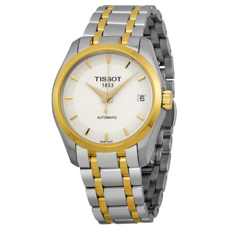 Couturier Automatic White Dial Two-tone Ladies Watch T0352072201100