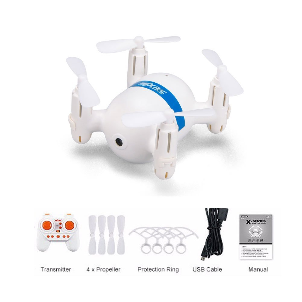 RC Quadcopter with Altitude Hold Mode,2.4Ghz 6Channel 6-Axis Gyro Headless Mode Mini... by