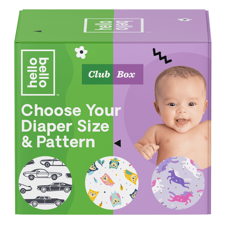 Hello Bello Club Box Diapers -Wild Things & Galacti-Cuties - Size 3 (92ct)