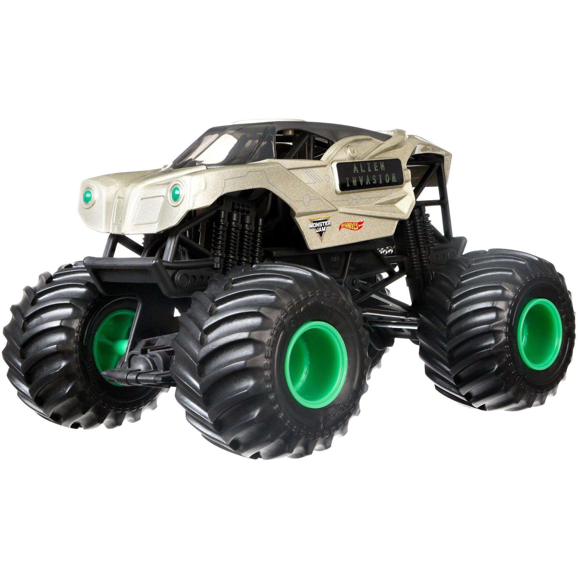 Hot Wheels Monster Jam Alien Invasion Vehicle by Mattel