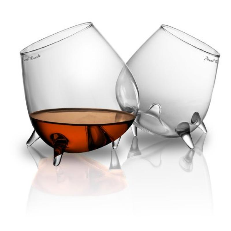 Final Touch Relax Cognac Glass, Set of 2 by