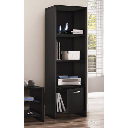 South Shore SoHo 3-Shelf Bookcase/Media Storage, Multiple Finishes