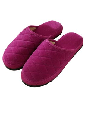 Slippers for Women & Men, Outgeek Cotton Soft Slippers Anti-skid House Slippers Winter Warm Slippers Indoor Slippers Shoes for Women Men Boys Girls Couple