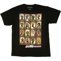 GI Joe Card Art T Shirt Sheer