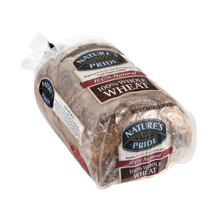 Nature's Pride Bakery Bread 100% Whole Wheat - best for weight reduction and healthy for #GastricBypass #GastricSleeve