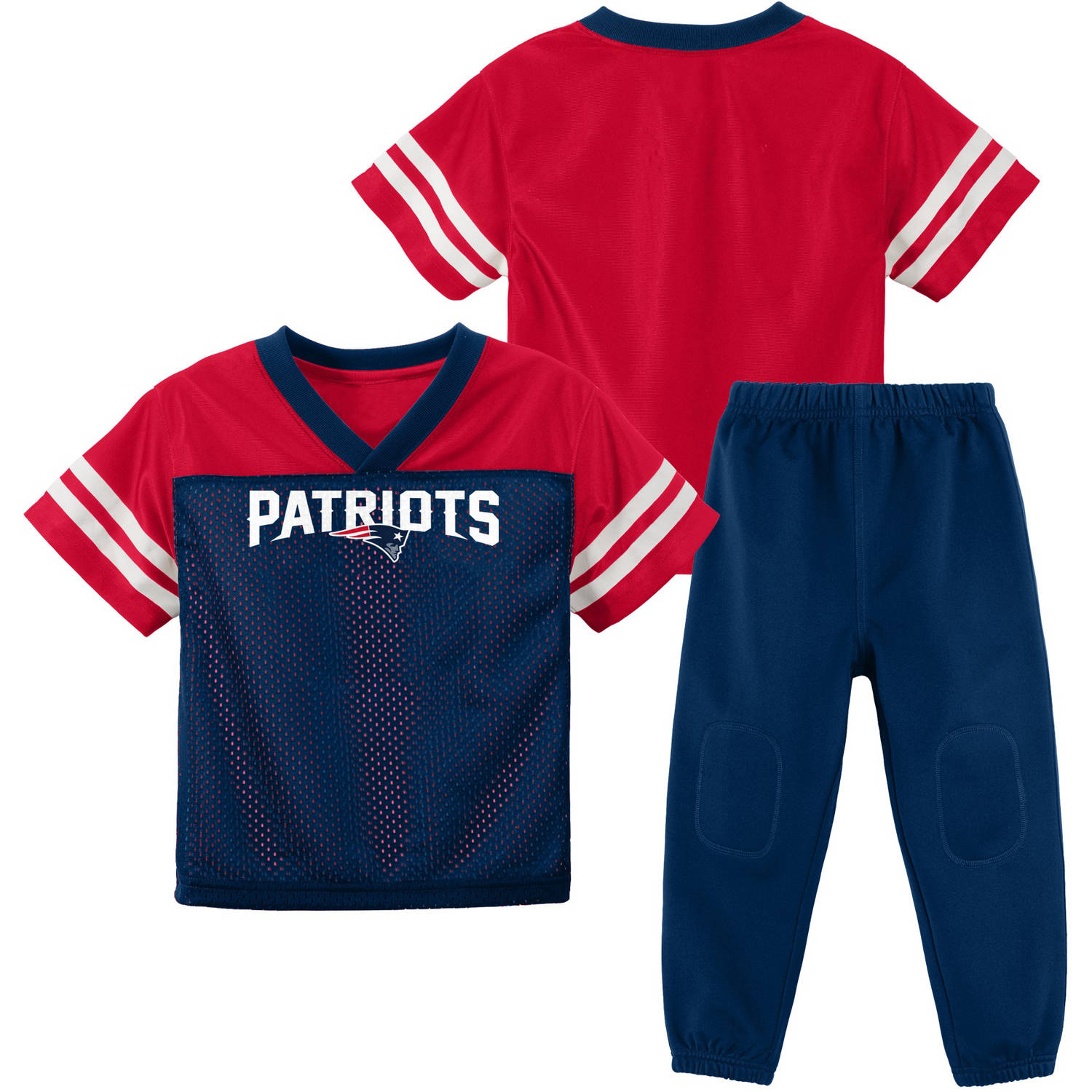 NFL New England Patriots Toddler Short Sleeve Top and Pant Set