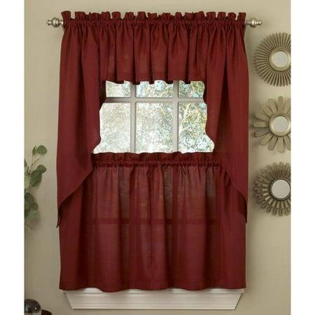 Ribcord kitchen curtain - Kitchen curtains walmart ...
