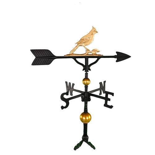 Montague Metal Products Inc. Deluxe Cardinal Weathervane