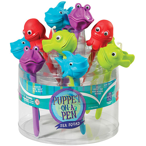 Educational Insights Sea Squad Puppet-On-A-Pen Party Pack
