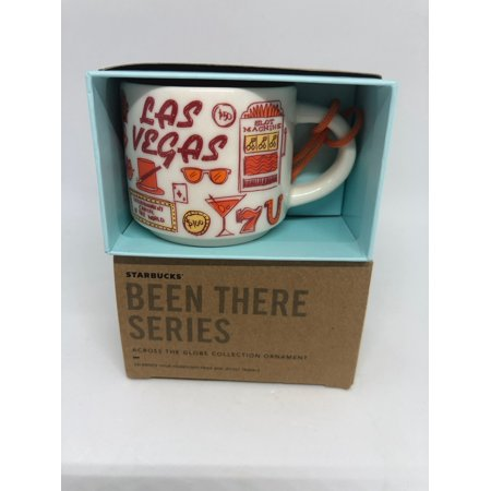 Starbucks Coffee Been There Las Vegas Ceramic Ornament Espresso Mug New