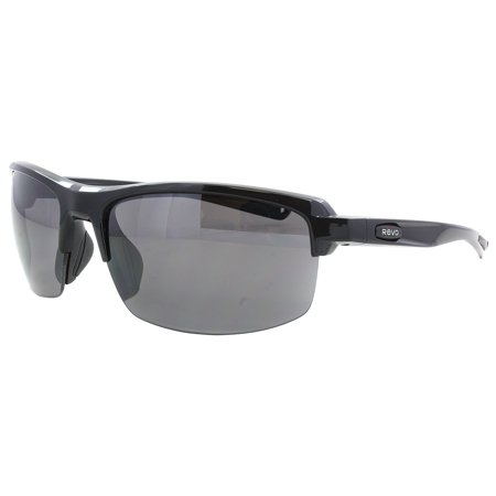 Revo Crux S 4067 01 Polished Black / Graphite (Graphite Sunglasses)