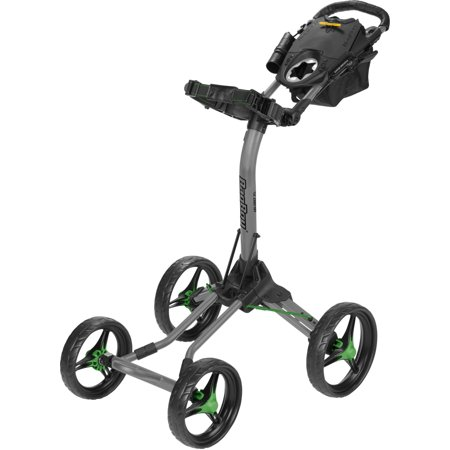 Bag Boy Quad XL Push Cart - Battleship Gray/Lime (Bag Boy Quad Vs Sun Mountain Micro)