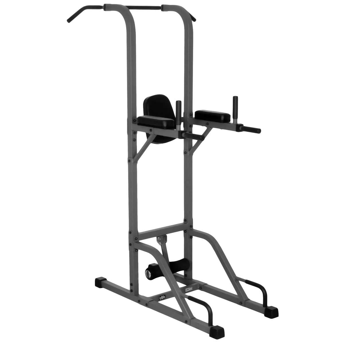 XMark Vertical Knee Raise with Dip and Pull-up Station Tower