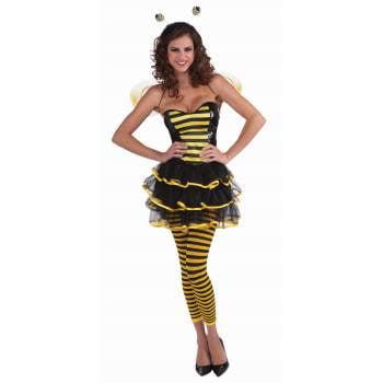 BUMBLE BEE LEGGINGS - Bumble Bee Wings Halloween