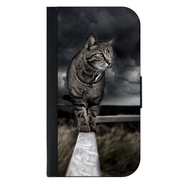Alley Cat- Passport Cover / Card Holder for Travel